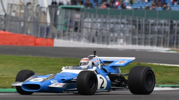 Sir Jackie Stewart's Golden Milestone at the Silverstone Classic