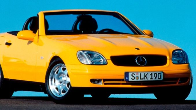 A Trendsetter with the Folding Vario-Roof - 25 Years Ago, the Mercedes-Benz SLK Aroused the Interest of Enthusiasts