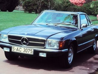 Mercedes-Benz SL of the R 107 Model Series Premiere 50 Years Ago in April 1971