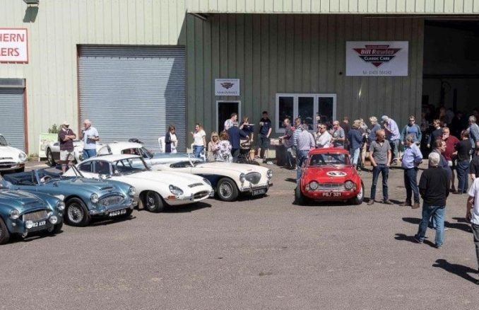 Cake, Coffee and Chatter - A Day of Sunshine at Bill Rawles Classic Cars