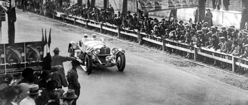 The legendary Mille Miglia 90 years ago Caracciola won in 1931 in a Mercedes-Benz SSKL