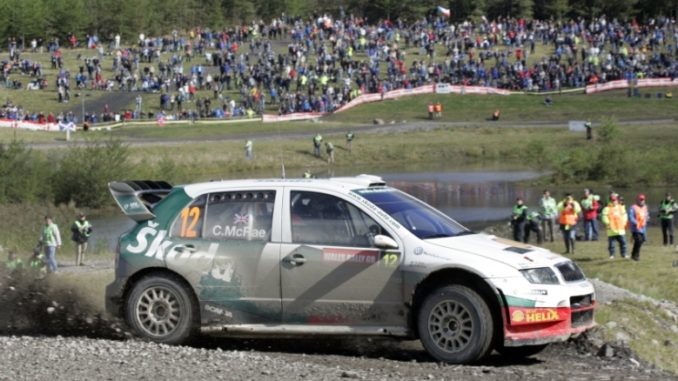 ŠKODA hails two decades of performance as it celebrates 20 years of vRS in the UK - Colin McRae 2005