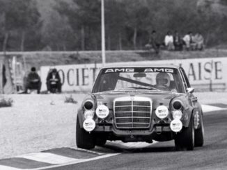 The sensation at Spa 50 years ago - AMG class victory at the 24-hour race in 1971