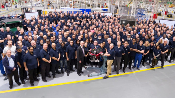 Ford Dagenham Celebrates 90 Years as London's Largest Manufacturing Location Looks to the Future (Picture: Spencer Griffiths)