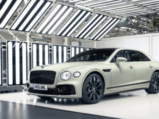 Mulliner heritage paints Recognition of 70 years of Design at Crewe