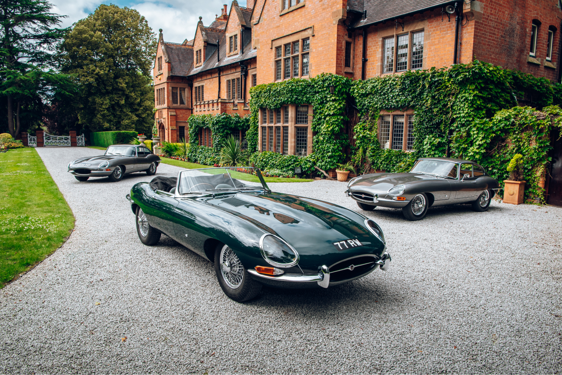 Original Geneva Motor Show launch Jaguar E-Types reunited at the home of their maker, 60 years after their debut
