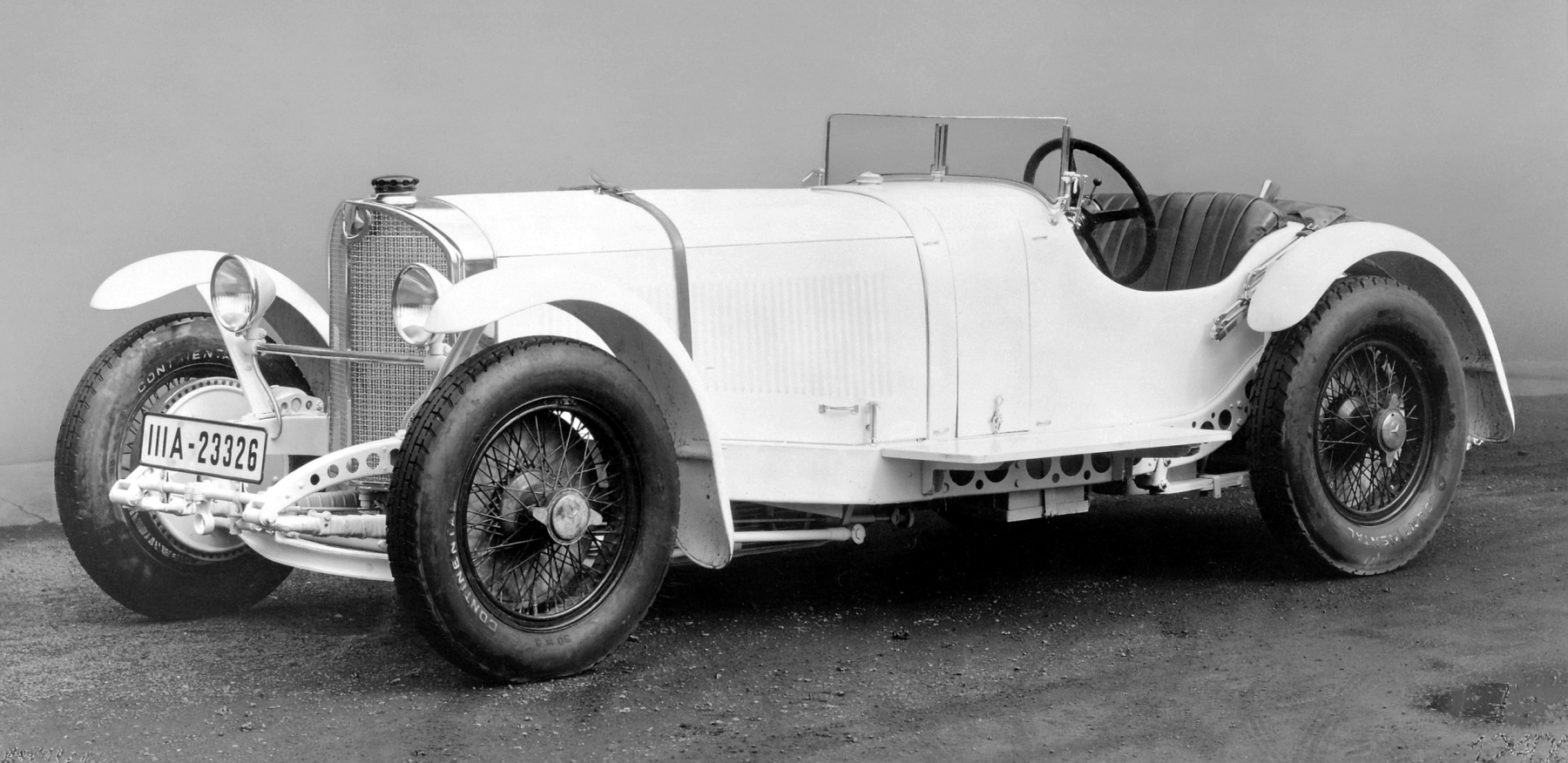 The legendary Mille Miglia 90 years ago - Caracciola won in 1931 in a Mercedes-Benz SSKL